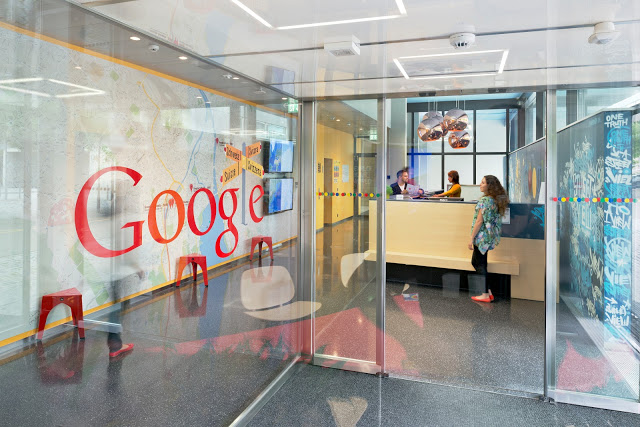 google office in Zurich, Switzerland, Europe.