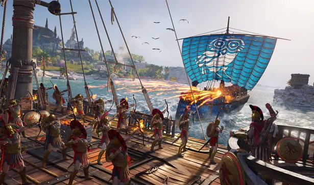 Assassin's Creed Odyssey, image by Ubisoft