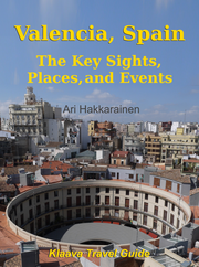 travel guide book cover image: Valencia, Spain