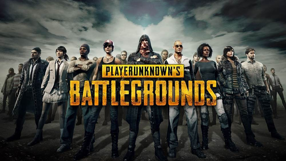 player unknown's battlegrounds game, group portrait
