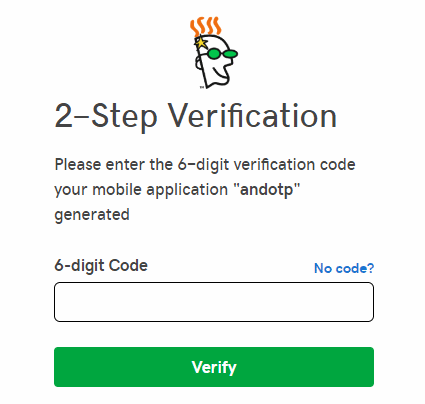 Godaddy two-step verification window
