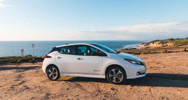 Nissan Leaf Plus, electric compact car