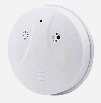 spy camera in smoke alarm