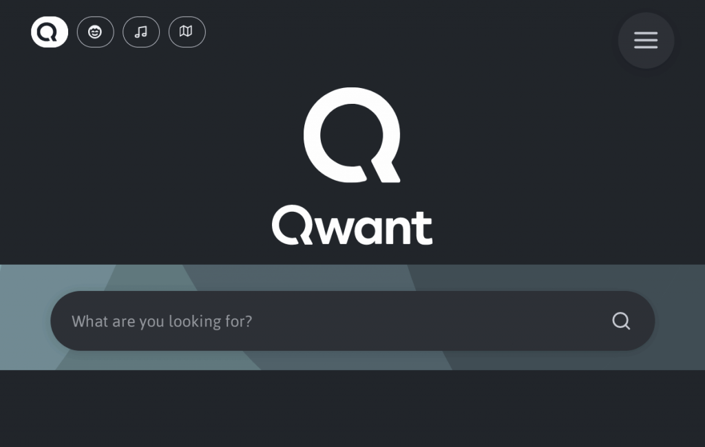 Qwant mobile browser