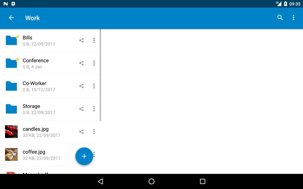 nextcloud on Android