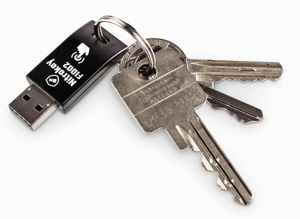 nitrokey usb stick for passwordless login on nextcloud