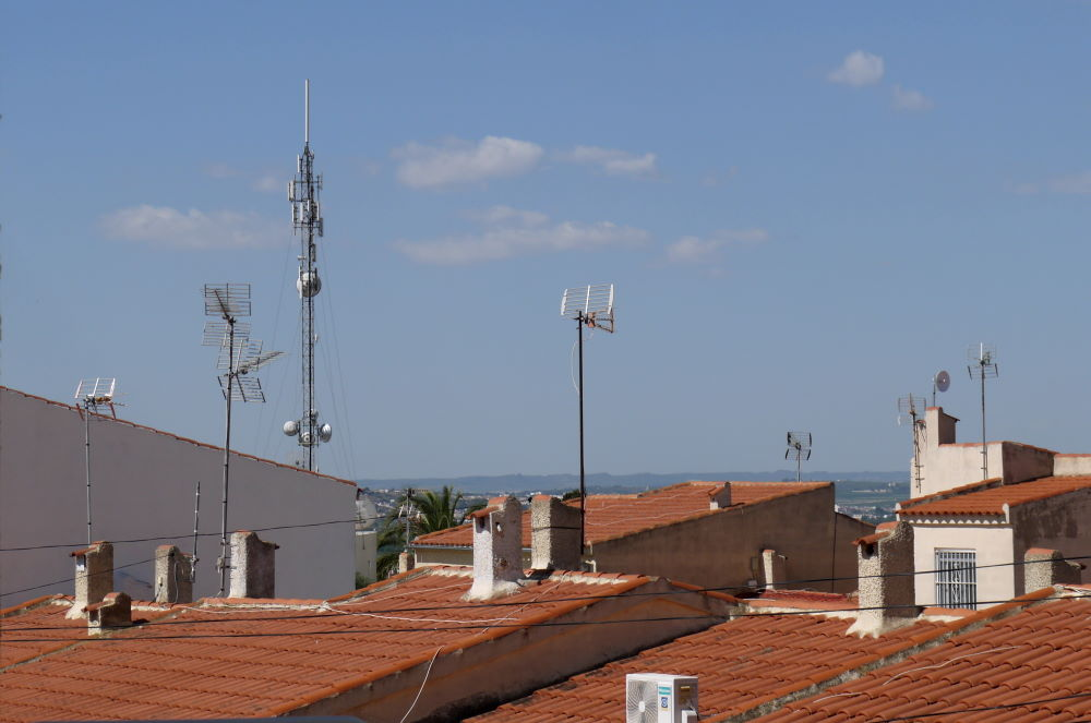 radio mast for mobile network and other signals