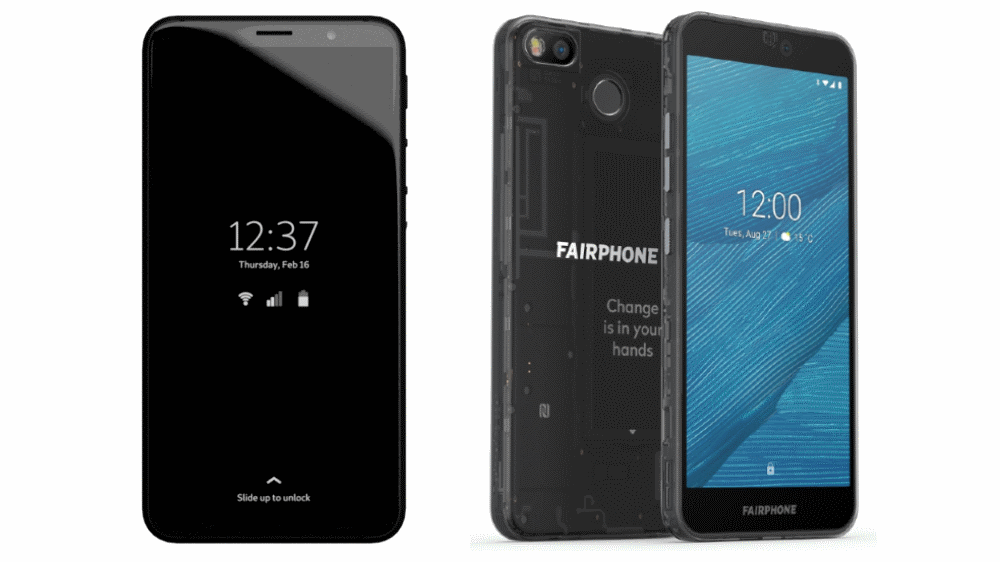 purism librem and fairphone phones