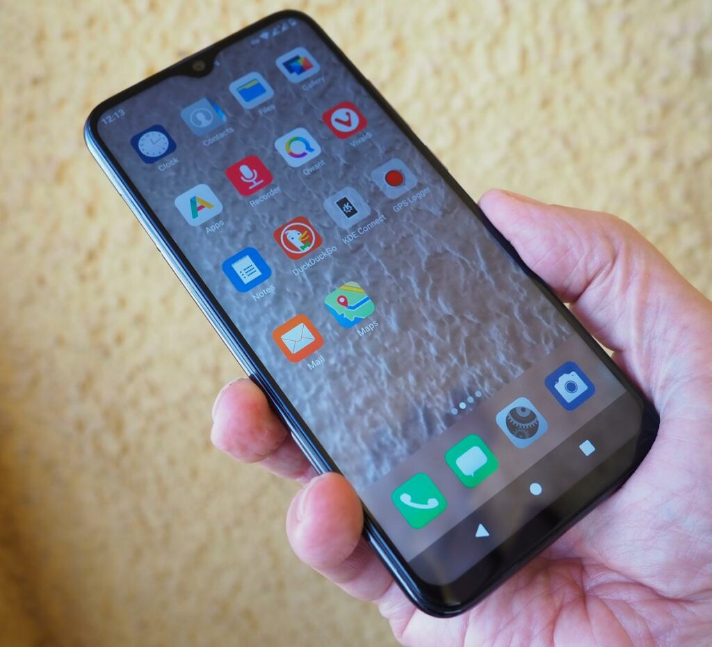 gigaset phone powered by e.os software (main menu)
